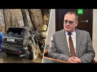 Мэр Абакана погиб в автокатастрофе