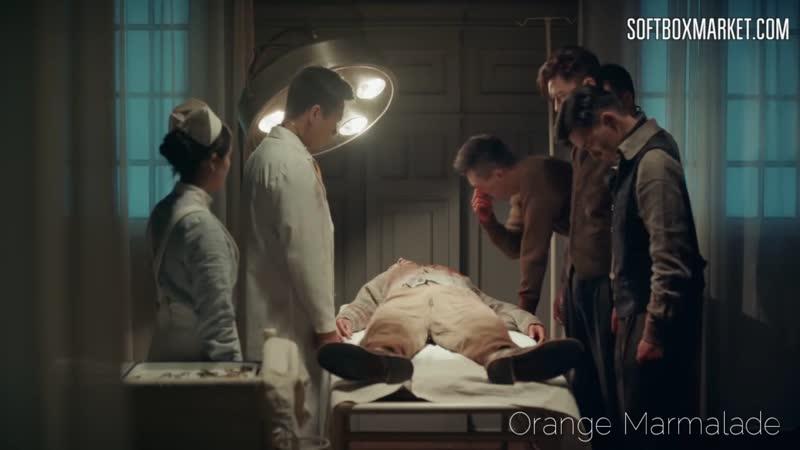 Отрывок из дорамы Арсенал военной академии Смерть Хуан Суна 43 серия Озвучка SOFTBOX