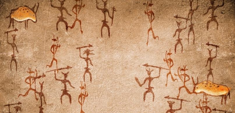 Война в рисунках неолита.