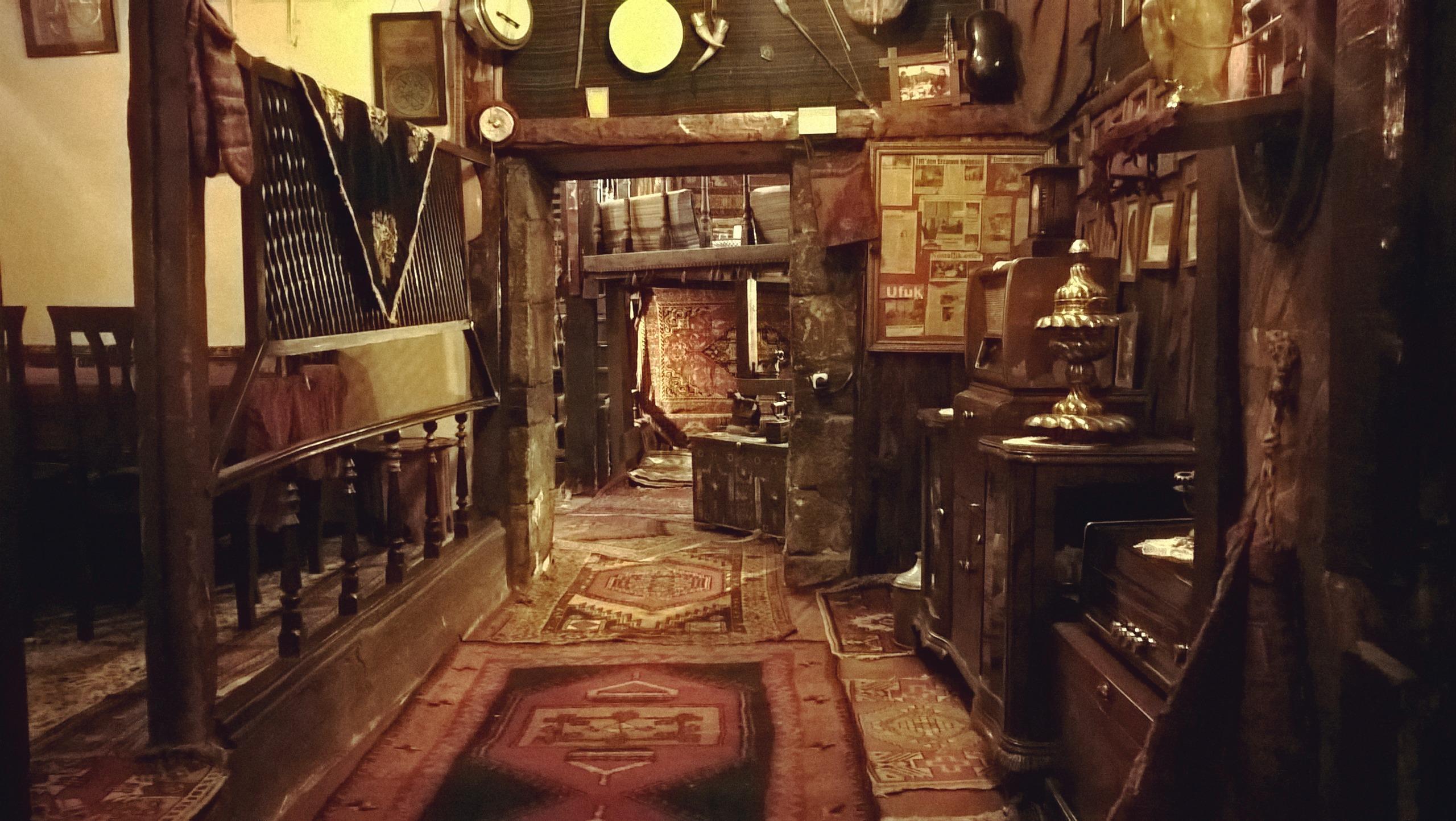 Уникальный этнографический ресторан-музей в Эрзуруме