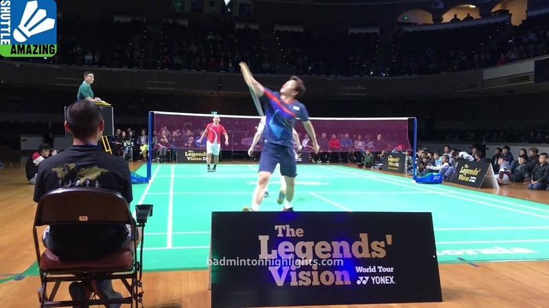 Lee Yong Dae/ Peter Gade vs Tony Gunawan/ Howard Bach | Yonex Legend Vision in US | Shuttle Amazing