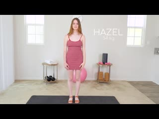 Hazel Moore (The Cute Fitness Nymho Girl Next Door - Hazel Moore Initial Casting) [Big Tits, Blowjob, Creampie]