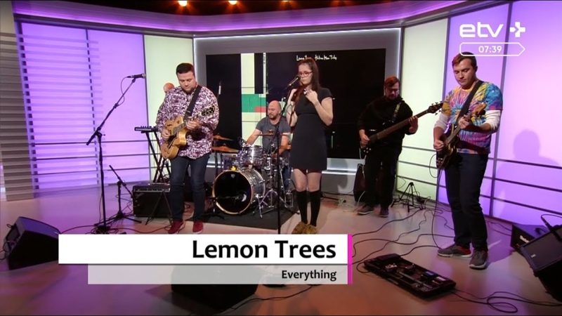 Lemon Trees — Everything (Live On ETV Kofe, 18.09.2019)