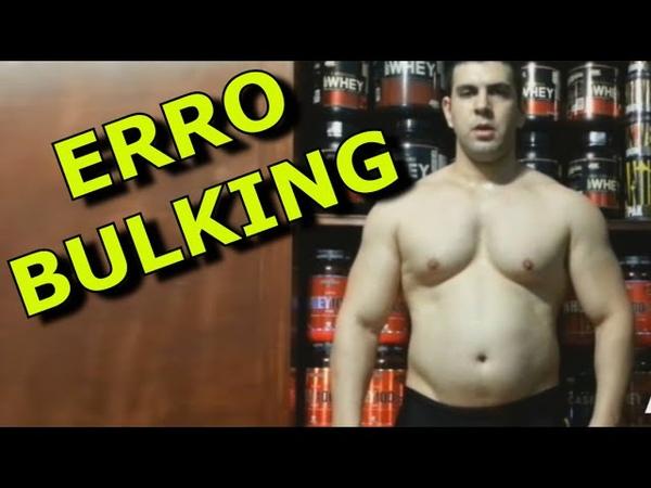 O Erro que cometi ao fazer Bulking (dieta)