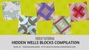 Video tutorial Hidden wells blocks compilation
