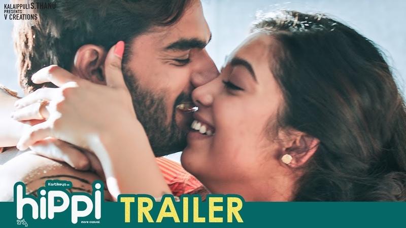 Hippi Movie Trailer Karthikeya Digangana Suryavanshi Jazba Singh TN Krishna V Creations