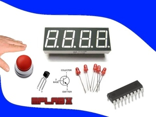 37. Счётчик нажатия кнопки с PIC16F84A и LED индикаторами. Часть 2. (Урок 32. Теория)