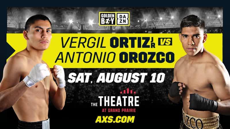 Верджил Ортис - Антонио Ороско | Vergil Ortiz - Antonio Orozco