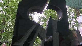 Открытие памятника Коле Васину