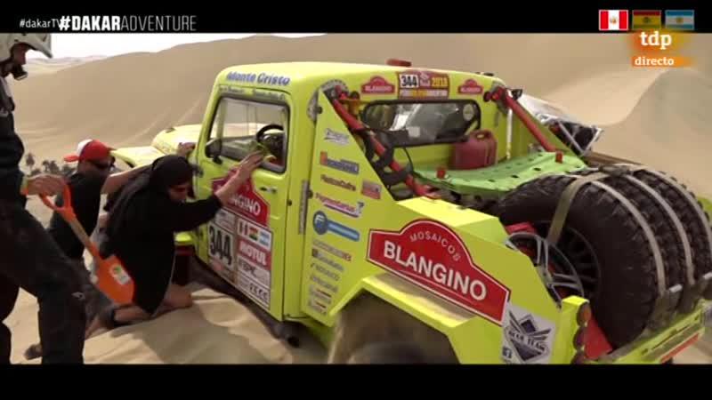 Dakar 2018 Etapa 2 Pisco Pisco