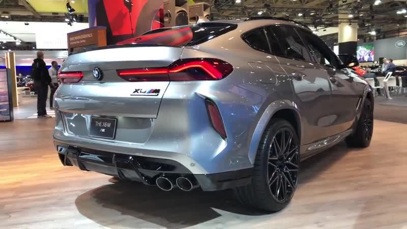 2020 BMW X6M Competition 617HP Donington Grey Metallic In Depth Video Walk Aro