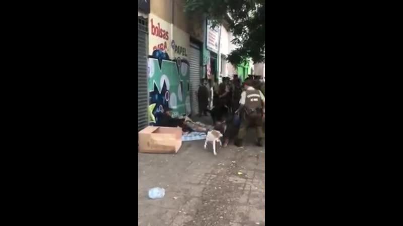 CHILE: ¿EXISTE ALGO DE PIEDAD EN LA MENTE DE UN CARABINERO?