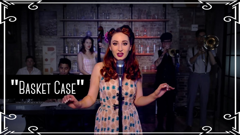 """Basket Case"" (Green Day) 1950s Cover by Robyn Adele Anderson"