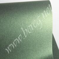 Дизайнерский картон Shyne Leaf Green 290 г/м, 30*30 см 70 р. - 1 лист обрезки = 15 р.