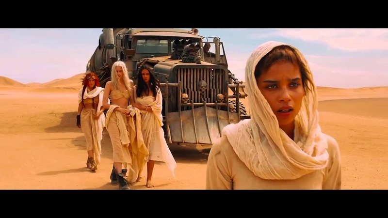 Mad Max Fury Road Furiosa's scream