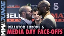 Bellator Europe 6 media day face offs