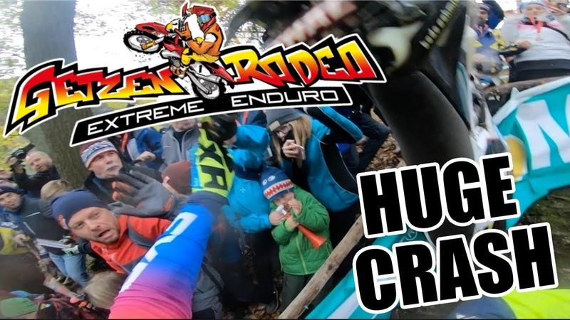 GetzenRodeo Onboard Kevin Gallas HUGE CRASH