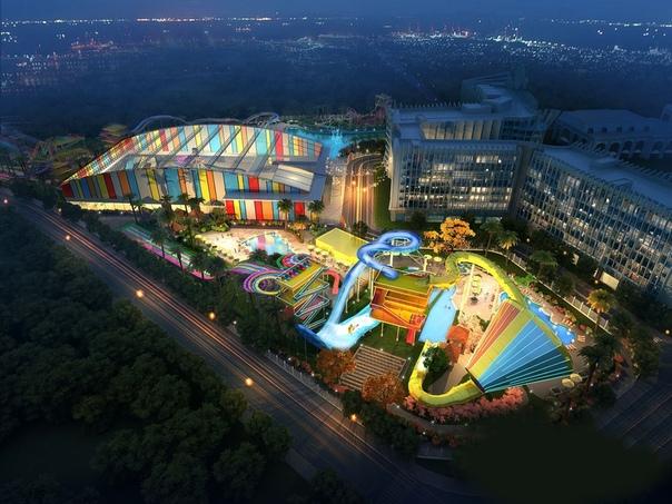 10 самых больших аквапарков в мире.
