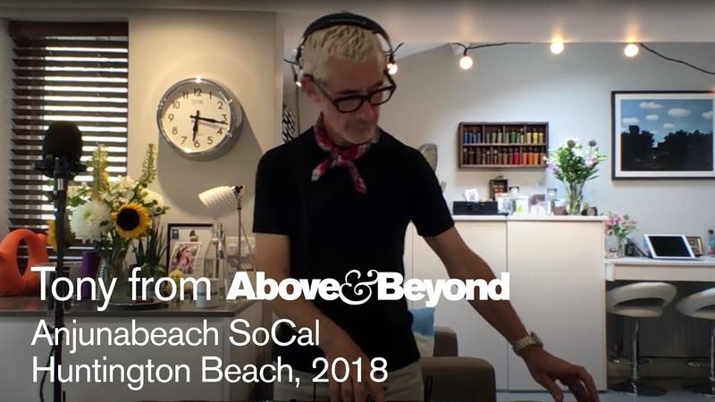 AB @ Anjunabeach SoCal, Huntington Beach 2018 Recreated by Tony McGuinness - livestream DJ set