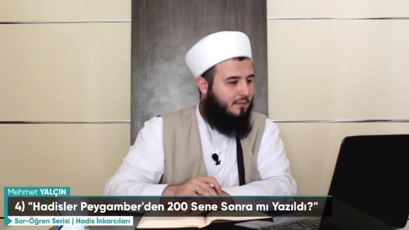 Mehmet Yalçın - Hadislerle ilgili sorulara cevaplar