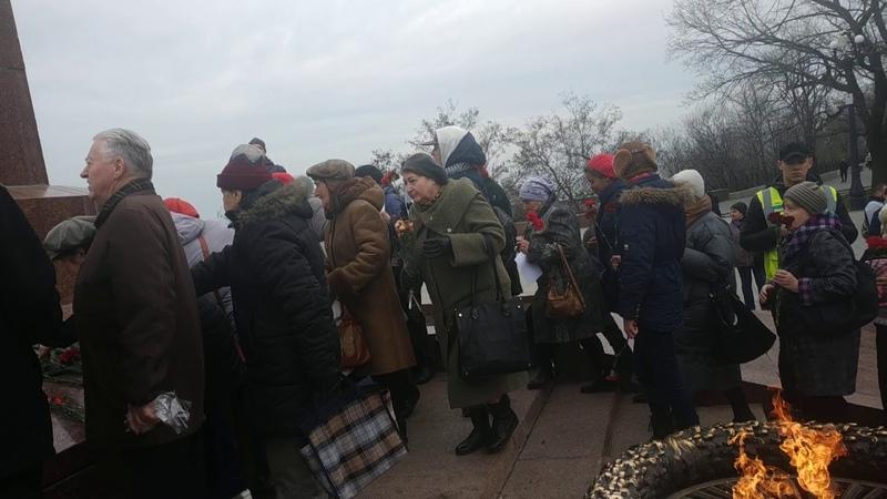 Одесса не сломлена горожане отметили 23 февраля под песни СССР