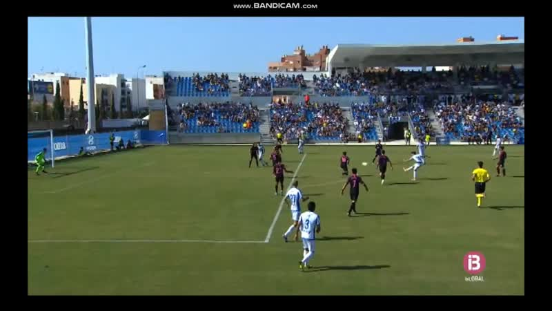 CD Атлетико Балеарес Реал Спортинг Хихон B 1 0 гол Хорхе Ортиса