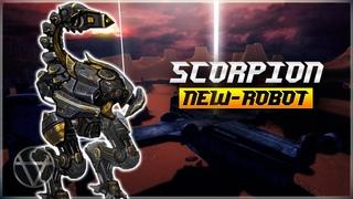 [WR] 🔥 NEW Robot Scorpion - Gameplay | War Robots