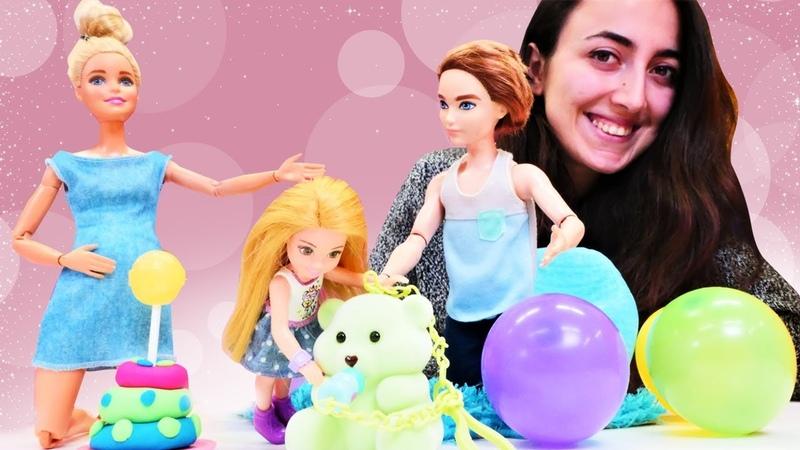 Barbie ve Sevcan Chelsea için doğumgünü sürprizi yapıp hediye almaya unutuyorlar