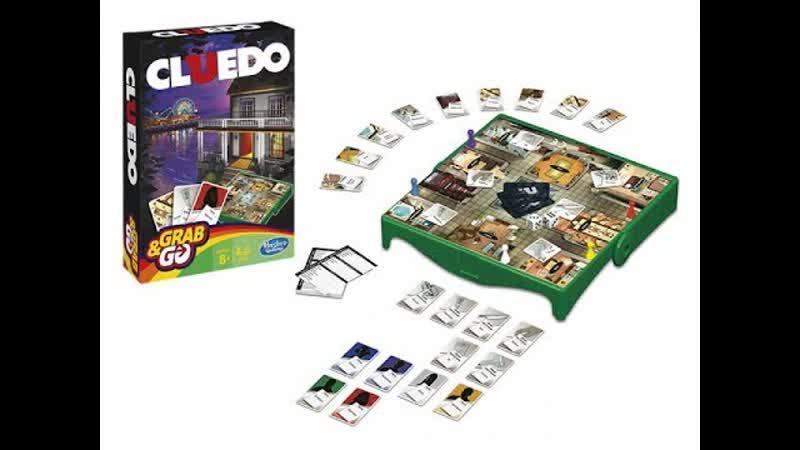 """Классическая детективная игра """"Cluedo"""" (Hasbro) – распаковка"""