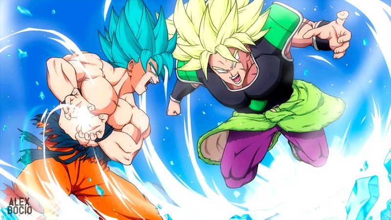 Dragon Ball Super Broly Kakarot vs Broly Nero Angero Cover