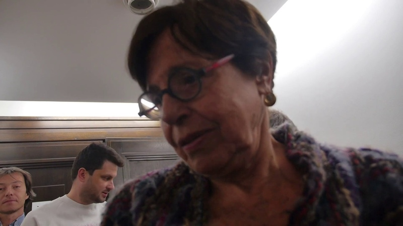 Ziva Postec, la monteuse derrière le film Shoah Зива Постек, которая смонтировала Шоа