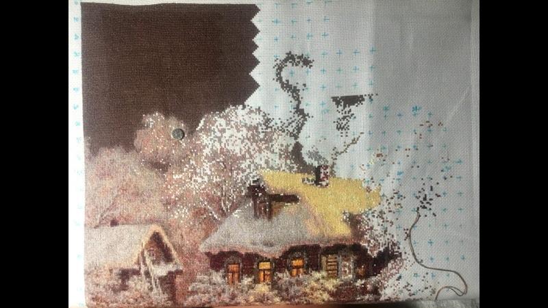 Шоколадная ночь (дмс) - отшив схемы ХИМЕРЫ
