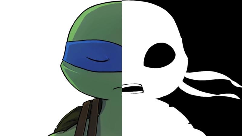 TMNT Hindsight Взгляд в прошлое 2 глава комикс озвучка
