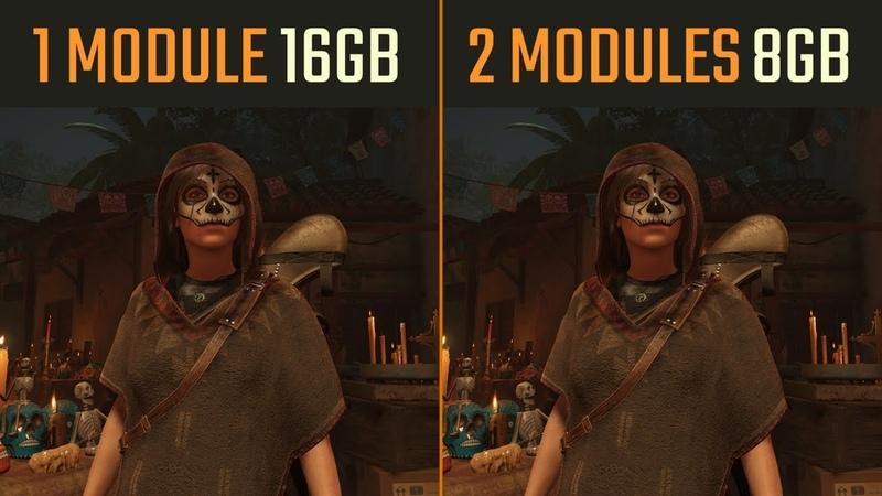 16GB RAM Single Channel vs. Dual Channel