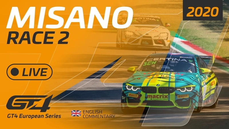 RACE 2 - GT4 EUROPEAN SERIES - MISANO 2020 - ENGLISH