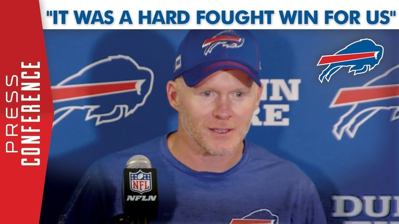 Sean McDermott | It Was A Hard Fought Win For Us