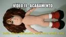 Amigurumi BONECO SEBASTIÃO parte 11/11 ACABAMENTO botão, olhos, sobrancelha, nariz, boca, orel