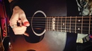 Country Blues Fingerpicking - Deep River Blues on the Martin DX Johnny Cash Guitar