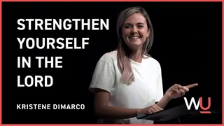 Strengthen Yourself In The Lord - Kristene DiMarco of Bethel Music  