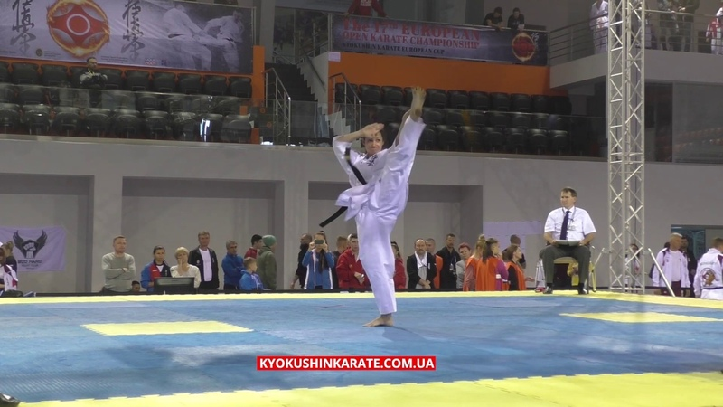 Women Final Kata - European Kyokushin Karate Championship 2018 (IKO)
