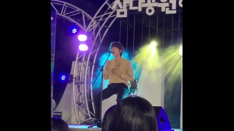 Gaho — Stay Here || Fancam || 160819 Jeju Samda Park Concert