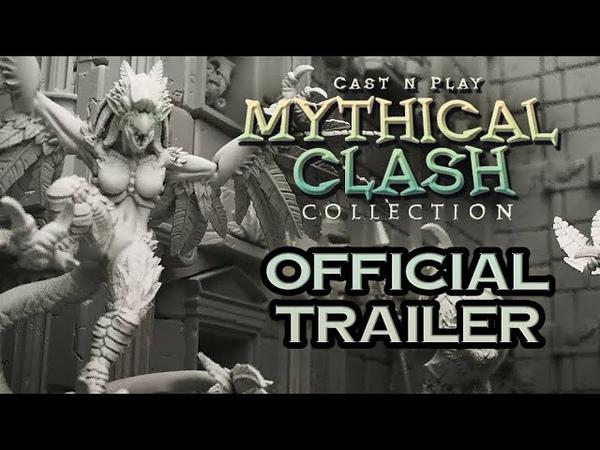 Mythical Clash Trailer 3D PRINTABLE MINIS
