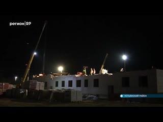 Министр строительства в Устьянах и Холмогорах