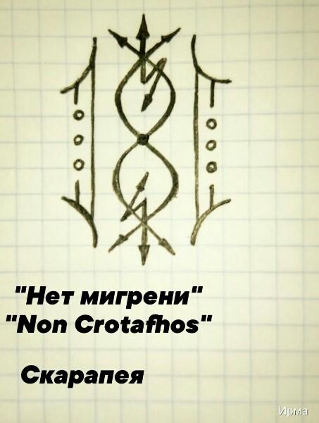 """Нет мигрени"" - ""Non Crotafhos"" MIF910A1SFk"