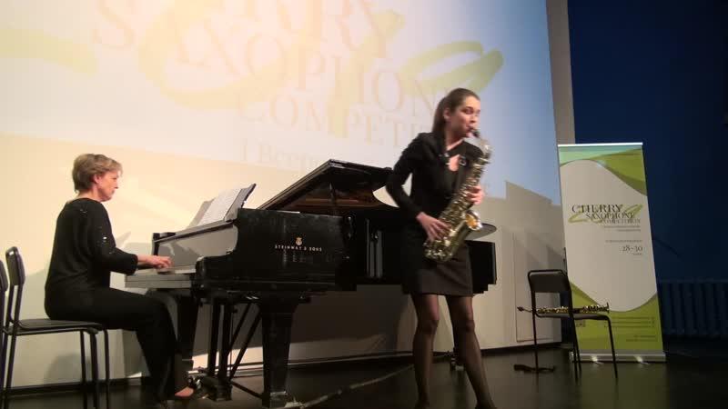 Полина Лепшова, cherry sax competition 2019