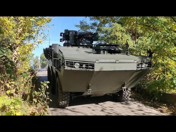 БТР Атаман-3. Детальный обзор и первые испытания.