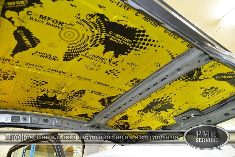 Шумоизоляция Lada Vesta, изображение №7