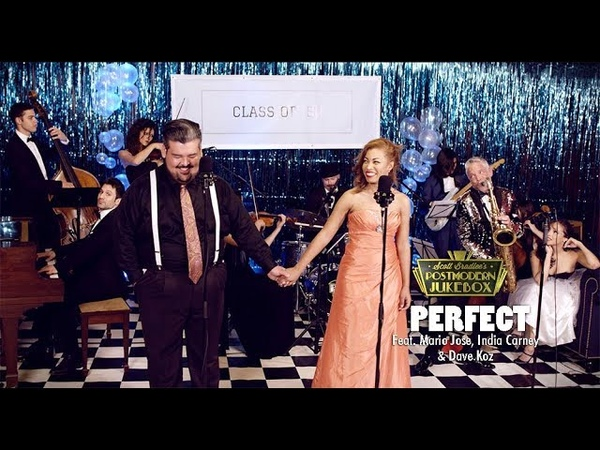 Perfect Duet Ed Sheeran Beyonce '50s Prom Cover ft Mario Jose India Carney Dave Koz