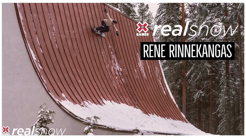 Rene Rinnekangas REAL SNOW 2020 World of X Games