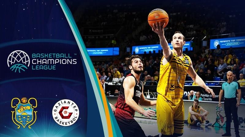 Iberostar Tenerife v Gaziantep - Highlights - Basketball Champions League 2019-20